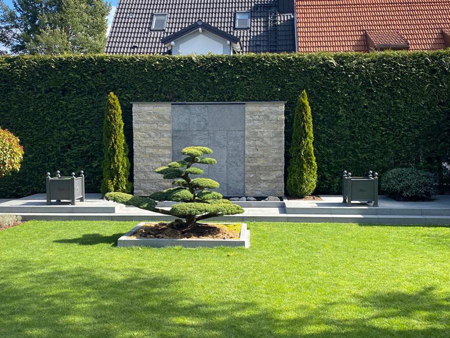 Gartengestaltung mit Bonsai