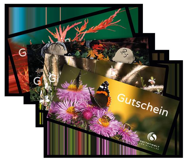 Gutschein für die Gartenwelt Uwe Scheller - Herbstmotive