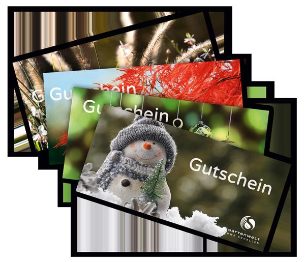 Gutschein für die Gartenwelt Uwe Scheller in Straßlach