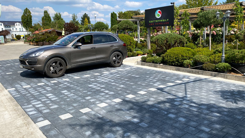 Neue Parkplätze in der GARTENWELT bei München