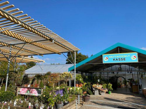 Neue Schattenhalle in der Gartenwelt