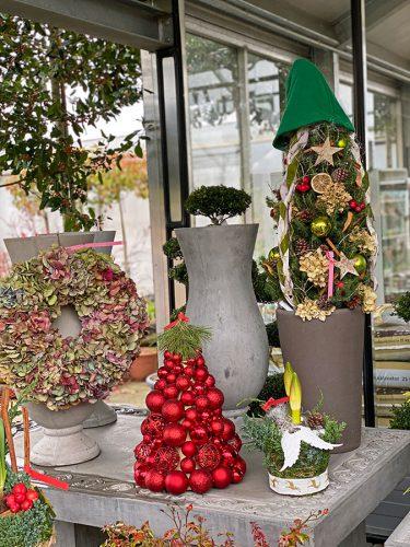 Weihnachtsdeko in der GARTENWELT bei München
